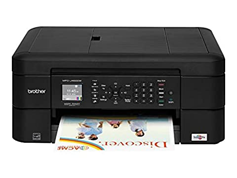 Brother Printer MFCJ460DW Wireless Color Inkjet Printer with Scanner, Copier & Fax, Amazon Dash Replenishment (Scanner Copy Printer)
