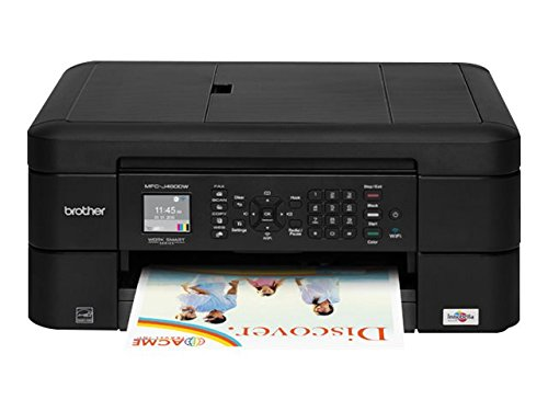 Brother Printer MFCJ460DW Wireless Color Inkjet Printer with Scanner, Copier & Fax,...