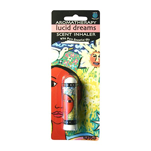 Lucid Dreams Aromatherapy Essential Oils Scent Inhaler   A Plant Derived Extract for Improving Dream Recall   Therapeutic Grade Essential Oils Inhaler with Affirmation for Colorful Healing Dreams.