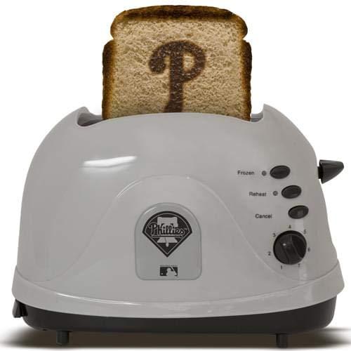 MLB Philadelphia Phillies Protoast Team Logo Toaster