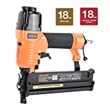 Valu-Air SF5040 2″ 18 Gauge 2 in 1 Brad Nailer and Stapler with Carrying Case