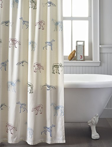 100 Contemporary Furniture - Kids Shower Curtain Scientific Animal Names
