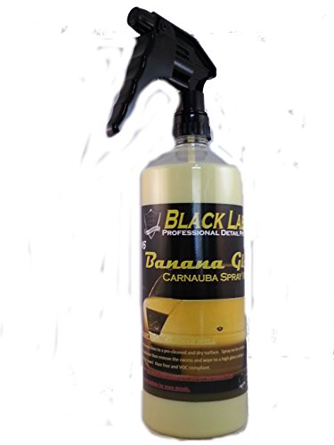 Banana Wax - Banana Gloss Spray Wax 1 - 32oz bottle with spray trigger (Protection that lasts for months)