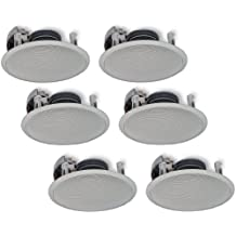 Yamaha NS-IW360C 2-Way In-Ceiling Speaker System 6 Pc Set