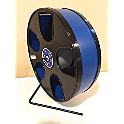 "11"" Diameter Wodent Wheel Dark Blue with Black(12.3"" total height)"