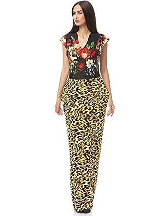 Xela Fashion Casual Straight Dress For Women
