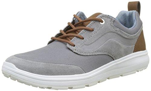 Vans Mens Iso 1.5 (mesh) Chaussures De Course Noir Asphalte Vrai Blanc