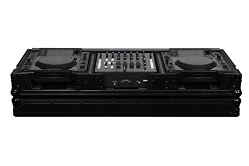 (Odyssey FZ12CDJW-BL 12In Mixer / Cd Player Case 12 Inch DJ Mixer Coffin )