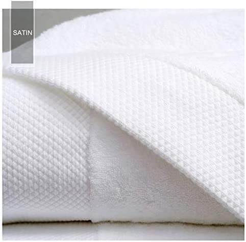 Toallas de baño blancas para adultos, 70 x 140 cm, toalla de hotel ...