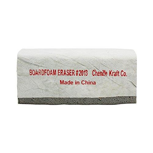 - Chenille Kraft CK-2013BN Latex & Suede Eraser, 5