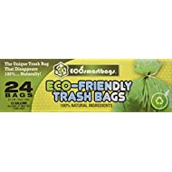 Ecosmartbags 13-Gallons 24 Ct Eco-Friendly Commercial Grade Trash Bags 2-Pack