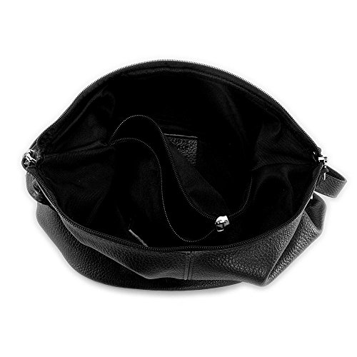 piel mujer negro para de Bag bandolera 2018 My diseño Bolso Oh Beaubourg de qw8YnH