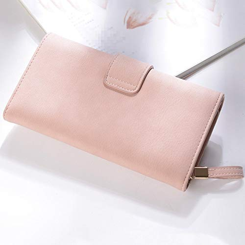 5f3b705a81d1f1 TangFeii 3 fashion European and American ladies buckle wallet clutch bag of  female wallet long section