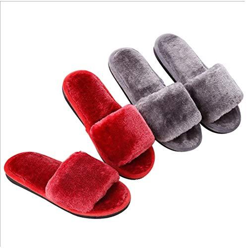 Cotone Casa Grey Giapponesi Antiscivolo Pantofole Bagno Da In Bontime Donna Toe Open Calde nZYw07PnSq