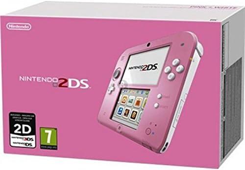 Caja vacia Nintendo 2DS. Rosa: Amazon.es: Videojuegos