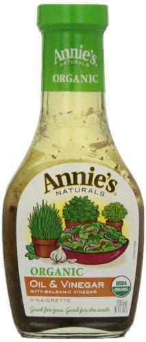 Annie's Organic Gluten Free Oil & Vinegar Dressing 8 fl oz Bottle
