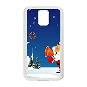 Santa Claus is Calling Samsung Galaxy S5 Cell Phone Case White DIY Gift xxy002_5032758