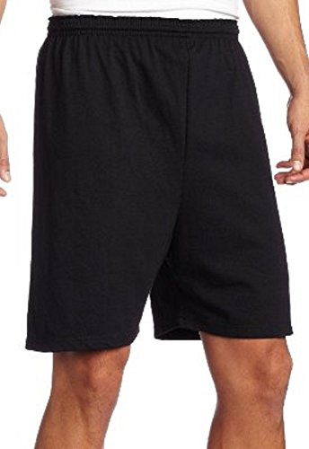 - Soffe Heavy Weight Black Jersey Short-2XL