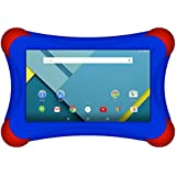 Visual Land Prestige Elite 7QL FamTab - 7 Quad Core 16GB Lollipop 5.0 Android Tablet with Bumper Case ( Royal Blue )