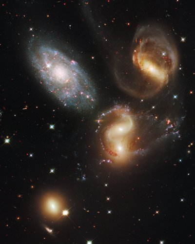 Hubble Space Telescope Poster Photo Stephan's Quintet NASA Posters Photos 11x14 by Perfect Posters and Pics