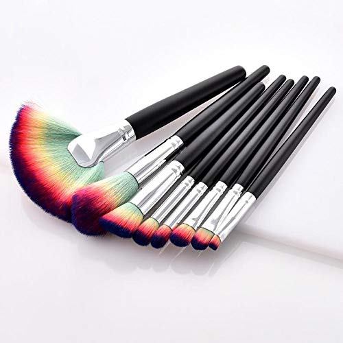 d99829329578 Blending Brushes Set Red Dieny Brushes 8pcs Makeup Brushes Tool Set  Foundation Blending Contour Eye Shadow Eyelash Fan Face Blush Lip Cosmetics  ...