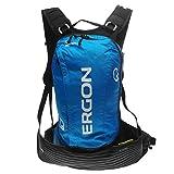 Ergon BX2 10+1.5 Litre Backpack with Hydration Bag Blue/Blk Rucksack Daypack Bag 10 Litre
