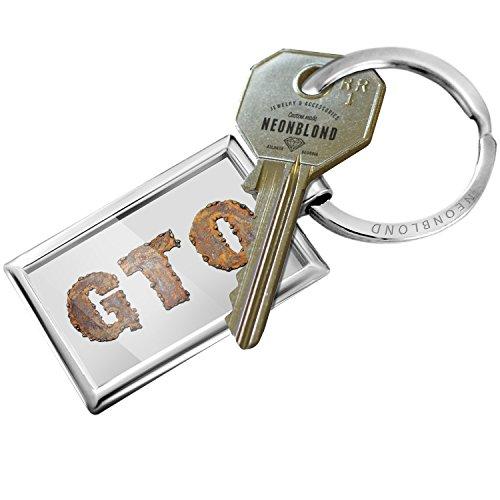 Keychain Gto Rusty Vintage Metal Welding - NEONBLOND Rusty Metal Key