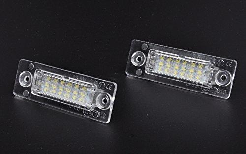 jdwg 2 pezzi Luminoso segno luminoso LED vano portabagagli leggero 65000 K