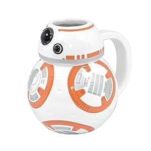 Taza de cerámica en caja Star Wars BB-8 3D