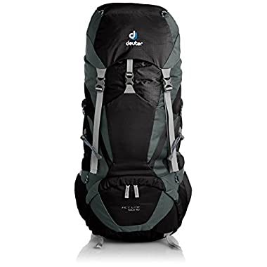 Deuter ACT Lite 50+10 Backpack - Black/Granite