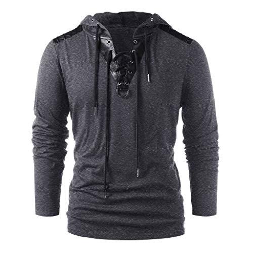 POQOQ Sweatshirts Unisex Halloween Christmas Themes 3D-Print Athletic Sweaters Fashion Hoodies Outlyer Full Zip Hood Fleece XL Dark Gray]()