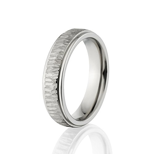 Custom 5mm Titanium Band, USA Made Titanium Rings, Comfort Fit Ring