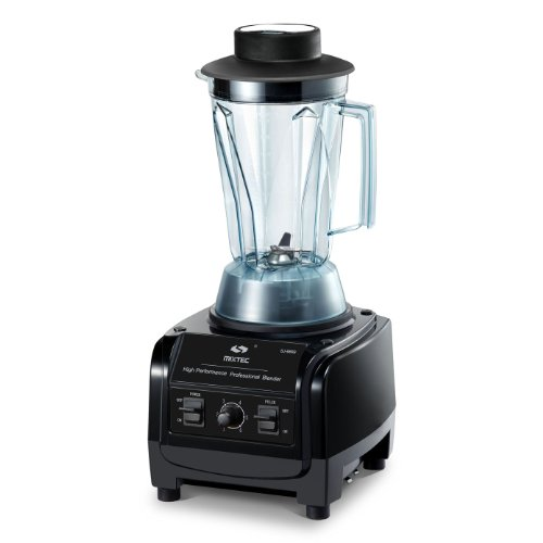 MIXTEC Heavy Duty Professional Blender, 3HP (2230W), 64 Oz, Up to 38,000 rpm Speed