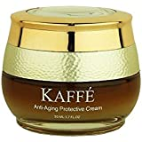 Kaffé 100% All Natural Anti Aging Protective Cream Infused with 100% Organic Kona Coffee for Body, Skin Nourishment, Cleansing, Acne Relief