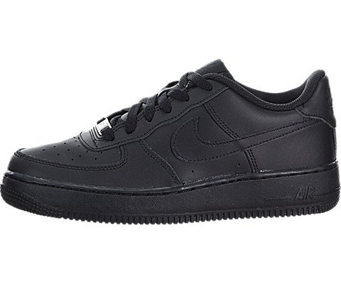 00c092641d5a6c Galleon - NIKE - Air Force 1 GS - 314192009 - Color  Black - Size  6.0