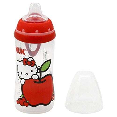 Hello Kitty Silicona Boquilla Activo Copa, 10 onzas