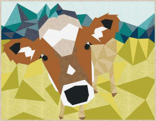 (Violet Craft VC027 The The Cow Abstractions QuiltPtrn)