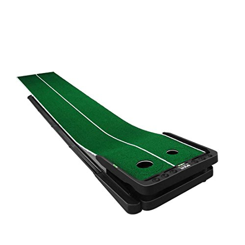 Novelty Golf Putting Trainer Indoor Golf Putting Green System----Auto Return,Extra Wide than Others,20inch Width by PGM (Image #1)
