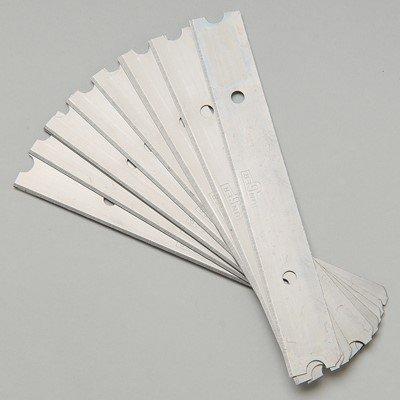 Unger 4'' Scraper Replacement Blades, 10/Case (10 Case)