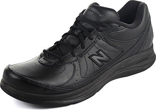 New Balance Men's MW577 Black Walking Shoe - 9 B(N) US