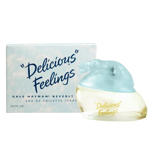 Delicious Feelings By Gale Hayman For Women. Eau De Toilette Spray 3.3 Ounces