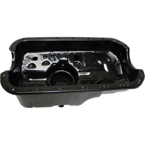 Makeオートパーツ製造 – シビック96 – 00オイルパン、スチール、6で。奥行、6.5ポンド。重量、3.8 Qts。容量、m14 X 1.5 Drain Plug TH – reph311306 B0737ZYBZY