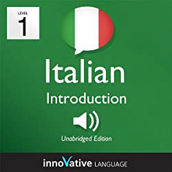 Learn Italian with Innovative Language's Proven Language System - Level 1: Introduction to Italian