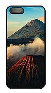 iPhone 5 5S Case Landscapes 7 PC Custom iPhone 5 5S Case Cover Black