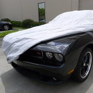 Housses pour Auto Compatible avec Dodge Challenger//B/âches Couverture Soleil et la Pluie//Protection Car Cover//Car Cover//Plein//Hail Car Cover//Protection de la Peinture de Voiture