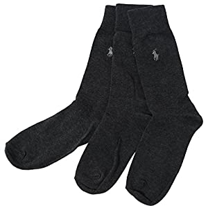Polo Ralph Lauren 3-Pack Dress Socks