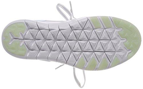 NIKE Women's Free TR 7 Training Shoes (9, White/Grey/Blue-M) by NIKE (Image #3)