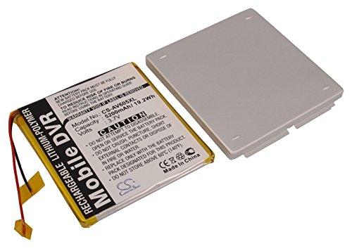 VINTRONS Battery fit to Archos AV605 Wifi 120GB, AV605 120GB