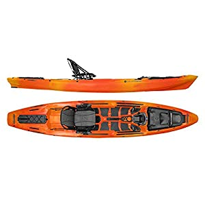 Wilderness systems a t a k 140 kayak mango for Wilderness systems fishing kayaks