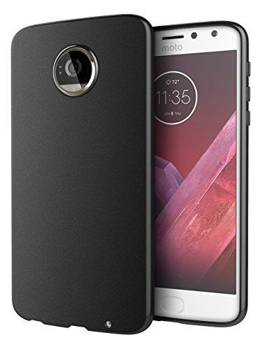 the best attitude 4e5c1 79917 Moto Z2 Play Case, Cimo [Matte] Premium Slim Protective Cover for Motorola  Moto Z2 Play - Black